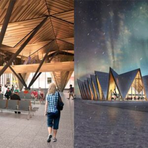 На форуме «Транспорт России» показали аэропорт Новый Уренгой в будущем