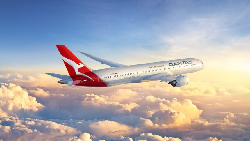 Авиакомпания Qantas-min