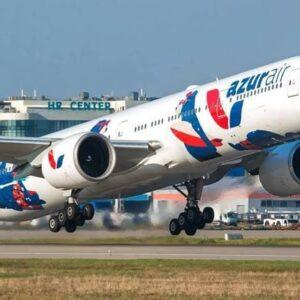 Задержан рейс AZUR air, летевший из Томска в Камрань. Идет проверка.